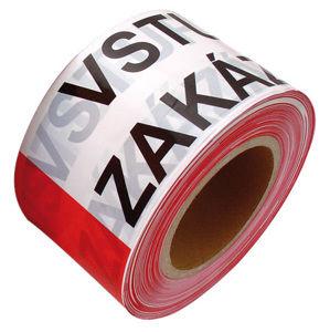 Výstražná PVC páska VSTUP ZAKÁZÁN