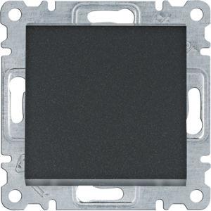 Přepínač střídavý Hager lumina, černá