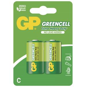 Baterie R14 C, GP Greencell