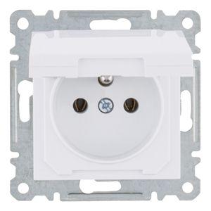 Zásuvka s víčkem IP20, Lumina2 WL1120