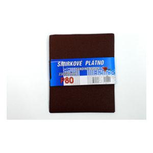 Plátno smirkové 230x280mm P80 (10ks/bal) - 121735