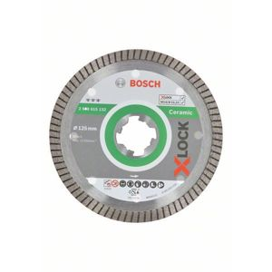 Kotouč řezný diamantový Bosch Professional Best for Ceramic Extraclean Turbo X-LOCK 125×1,4×7 mm