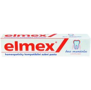 Zubní pasta bez mentolu ELMEX Mentol Free 75 ml