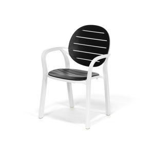 Polypropylenová židle MOLLY černá