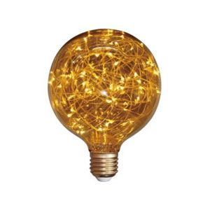 Žárovka LED E27 1W G95, FILAMENT COPPER