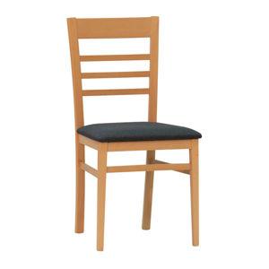 Židle TATA buk amber grigio