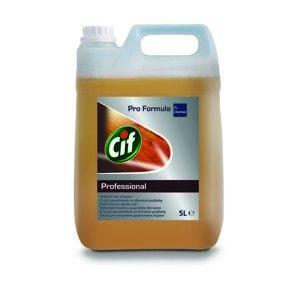 Čistící prostředek na dřevěné podlahy CIF Professional 5 L