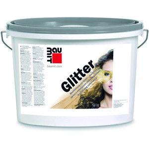 Transparentní fasádní nátěr Baumit Glitter s kovově lesklými třpytkami, 5 litrů