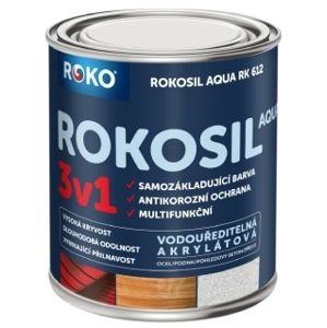 Barva samozákladující ROKOSIL  Aqua 3v1 RK 612 bílá 0,3 l