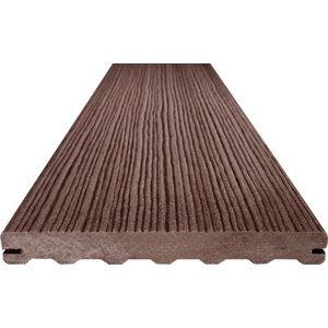 Dřevoplastové terasové prkno MAX FOREST 195x22mm (4m) palisander