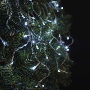 Řetěz spojovací LED blikající – rampouchy 2,5m studená bílá