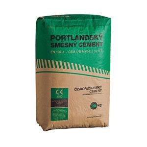 Portlandský směsný cement CEM II/B-M(S-LL) 32,5 R, 25kg