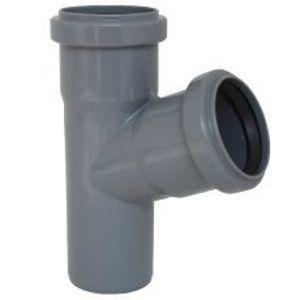 Odbočka HTEA pro připojení boční kanalizační větve DN 110/50, úhel 67,5°