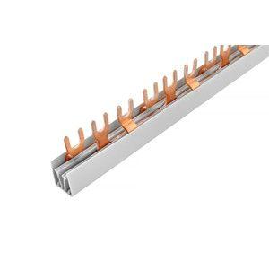 Lišta propojovací vidlice 3P 12 modulů