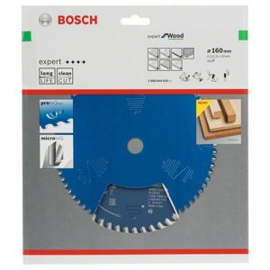 Kotouč pilový Bosch Expert for Wood 160×20×1,6 mm 48 z.