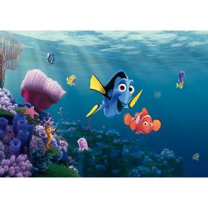 Papírová fototapeta  s motivem Hledá se Nemo, 360×254 cm