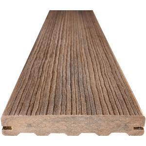 Dřevoplastové terasové prkno FOREST PLUS PREMIUM, odstín teak 137x22×4 000 mm