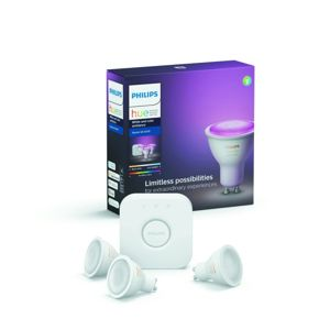 Set 3 žárovek a bridge LED 6,5 W Philips Hue