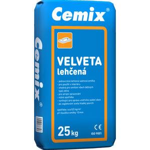 Omítka sádrová lehčená CEMIX VELVETA 036 25 kg
