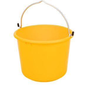 Vědro plastové zesílené Gripline žluté 20 l