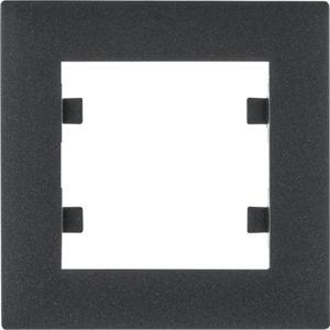 Rámeček Hager lumina INTENSE, černá
