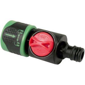 """Konektor s ručním ventilem Aquastar 1/2"""", plast"""