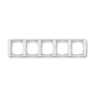 Rámeček pětinásobný vodorovný Element bílá / ledová bílá