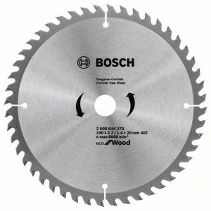 Kotouč pilový Bosch Eco for Wood 190×20/16×1,4 mm 48 z.